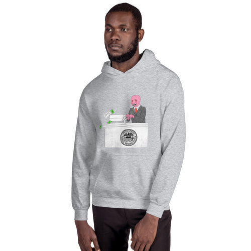 Money Printer Go BRRR FED Hoodie - WallStreet Autist