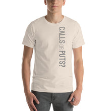 Load image into Gallery viewer, Calls or Puts Unisex Jersey Short Sleeve Tee - WallStreet Autist