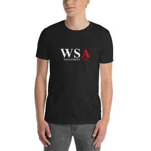 WSA WallStreet Autist Original Black/Navy Short-Sleeve Unisex T-Shirt - WallStreet Autist