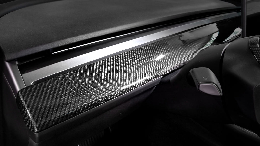 Tesla Model 3 Carbon Fiber Air Vent Panel Trim