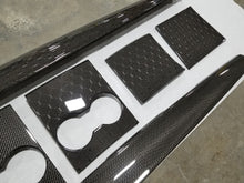 Load image into Gallery viewer, Tesla Model 3 Carbon Fiber Center Console Set (3pcs)
