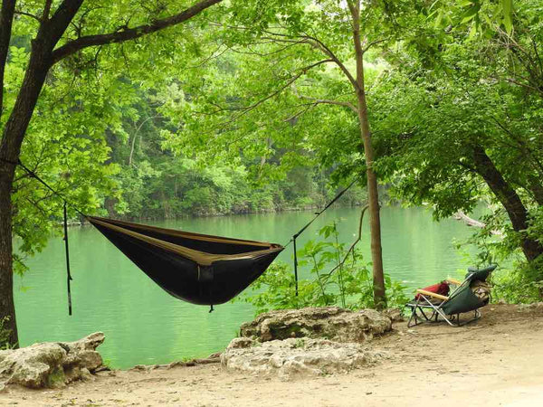 Hammock Camping next to a River