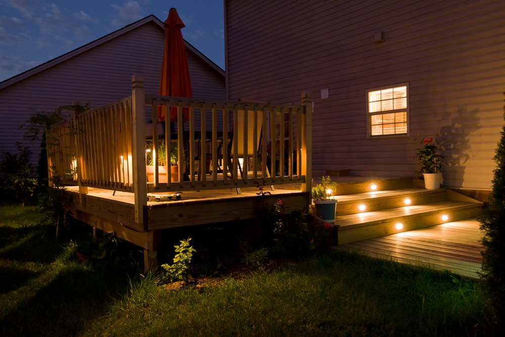 How To Hang String Lights In Your Backyard Without Trees Republic Of Durable Goods