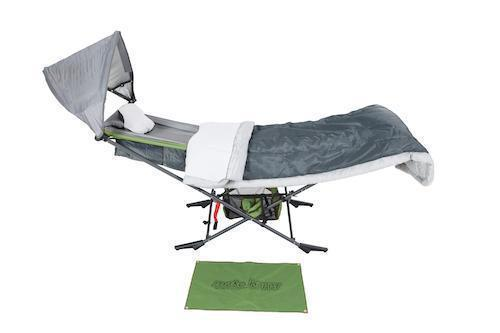 Chill Master (2-Pack Bundle) Portable Folding Camping Hammocks with Stand
