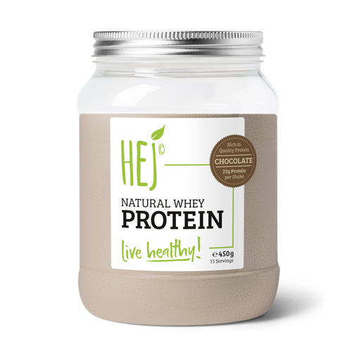 HEJ - Natural Whey Protein Choklad- 900g