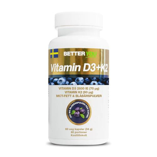 D-Vitamin preventions-kit: D-Vitamintest + Vitamin D3 kosttillskott