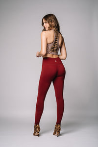 Meg High Waist legging-solid - Beat Outdoor Gear
