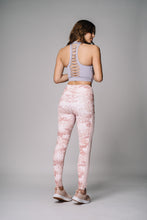 Pink Camo print side pockets legging