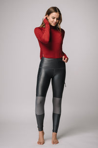 Base-layer Turtle Neck Long Sleeve