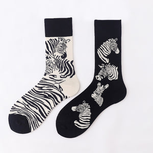 Ma Vie Fun Socks gift box-Asymmetrical 3- Pack#2