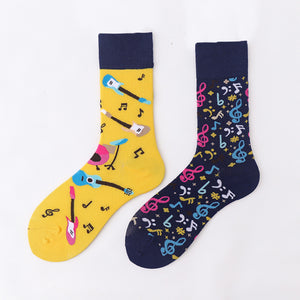 Ma Vie Fun Socks gift box-Asymmetrical 3- Pack#7