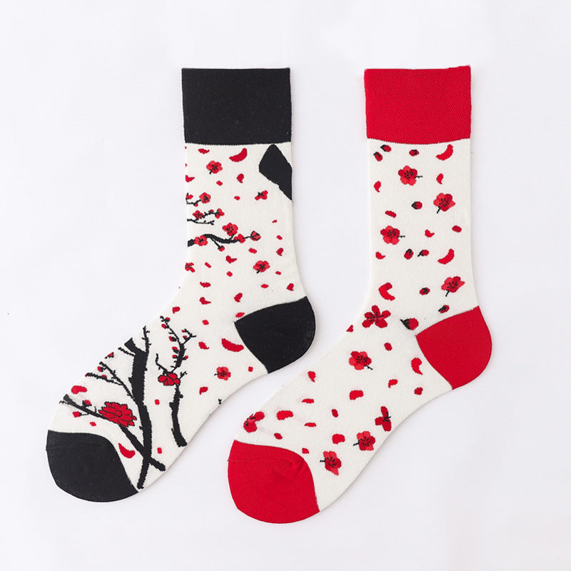 Ma Vie Fun Socks gift box-Asymmetrical 3- Pack#8