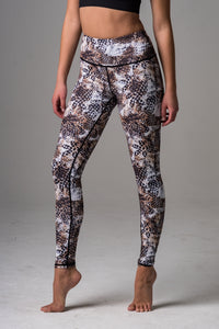 Mirna High Waist legging-Snake Print - Beat Outdoor Gear