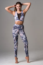 Mirna High Waist Leggings- Swirl - Beat Outdoor Gear
