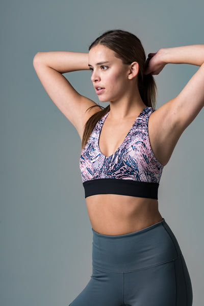 Carol Contrast Sport Bra - Beat Outdoor Gear