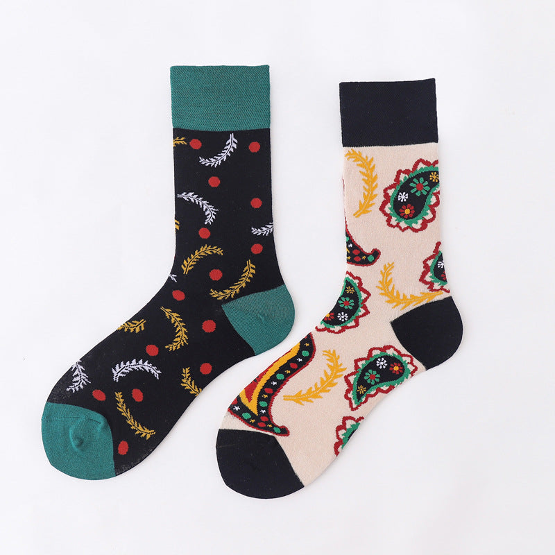 Ma Vie Fun Socks gift box-Asymmetrical 3- Pack#4