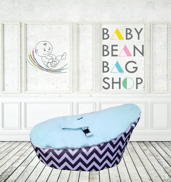 BABY BEAN BAG OF THE WEEK - CHEVVY BLUE