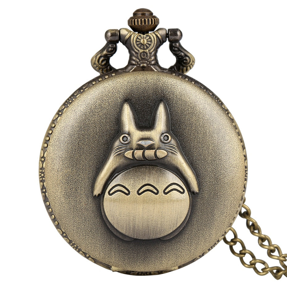 Totoro Quartz Pocket Watch