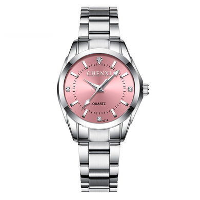 Demure Casual Stainless Steel