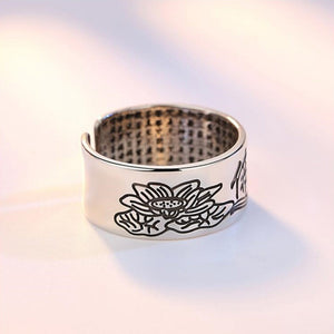 Tao Sterling Silver Ring