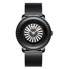 Load image into Gallery viewer, Turbine Bezel  Rotating Dial Quartz Watch-zaddy-zems