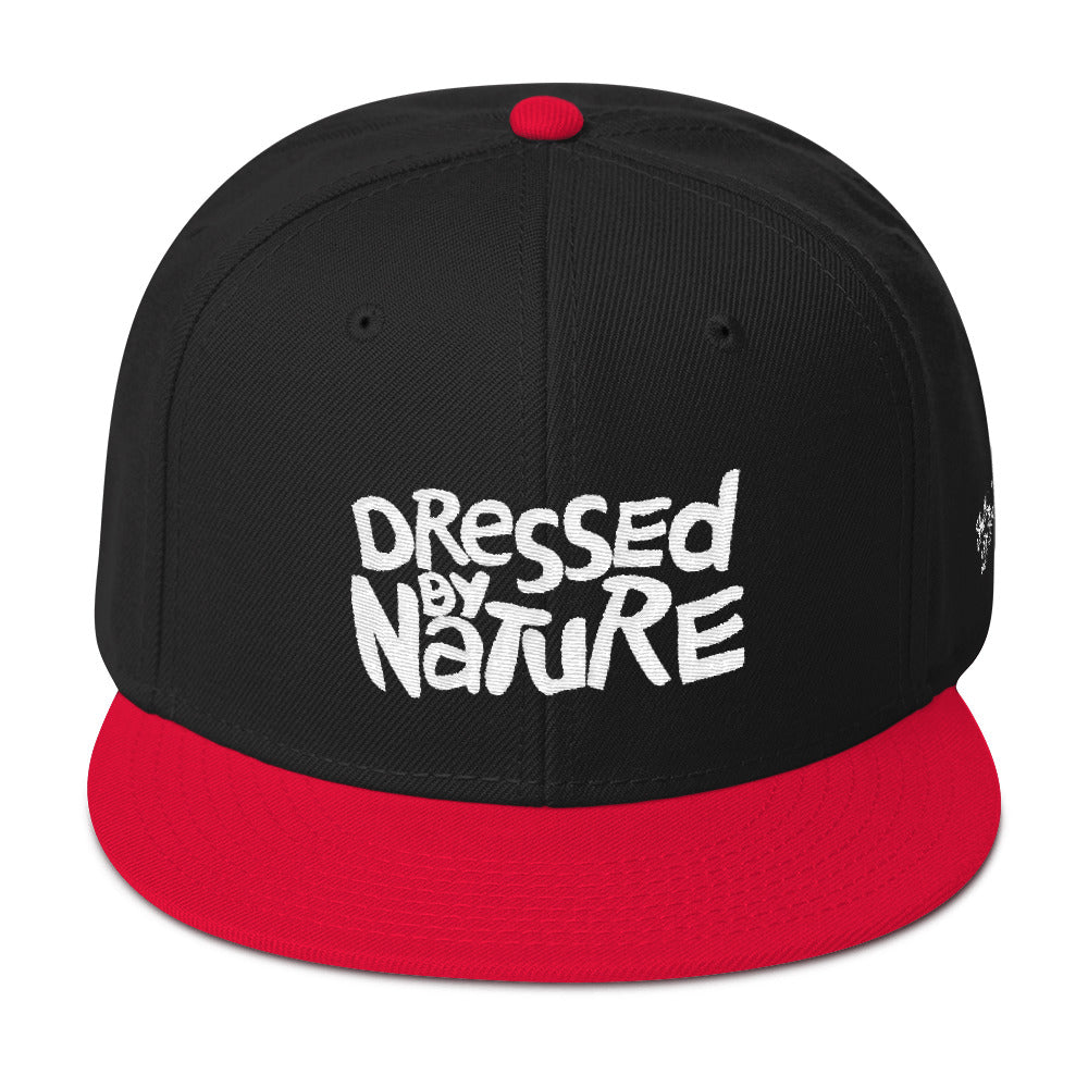 Dressed By Nature Snapback Hat
