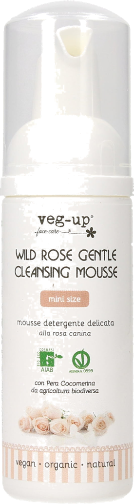 Wild Rose Gentle Cleansing Mousse