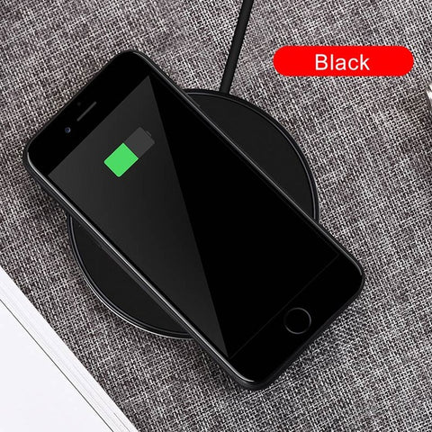 Qi Wireless Charging Pad for iPhone 8/X, Galaxy S7/S8/S8+/S6 edge