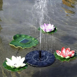 Solar Powered Fountain Pump - trendytorch