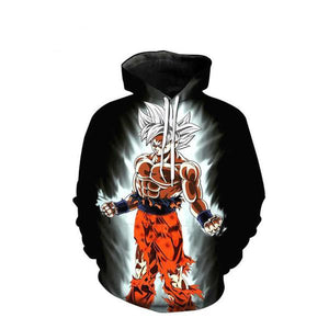 Goku Ultra Instinct Hoodie - LIMITED BLACK EDITION - trendytorch