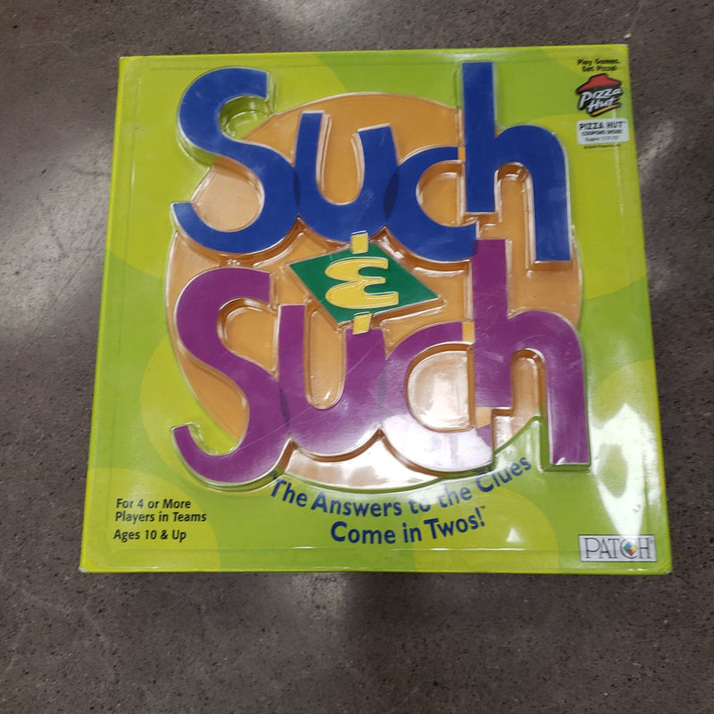 SUCH & SUCH - GAME