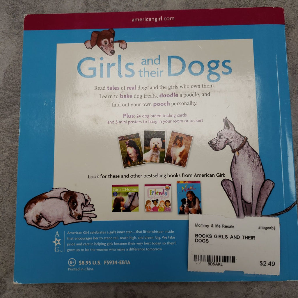 AMERICAN GIRL - GIRLS AND THEIR DOGS