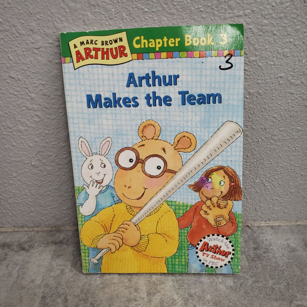 ARTHUR MAKES THE TEAM - BOOK