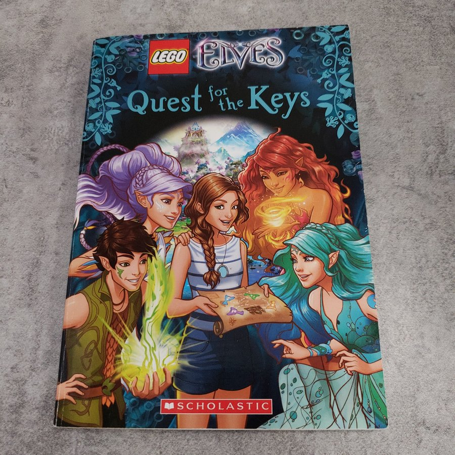 BOOK - LEGO: QUEST FOR THE KEYS