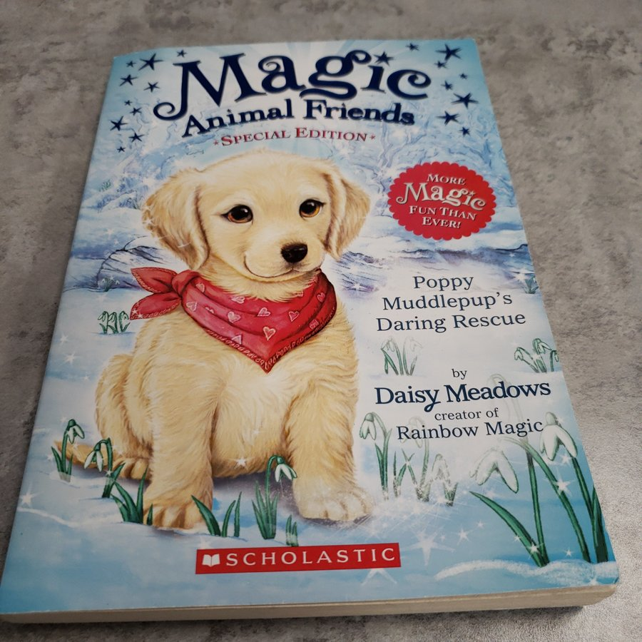 BOOK - MAGIC ANIMAL FRIENDS