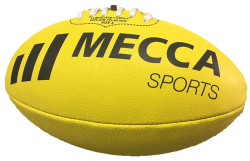 Mecca Synthetic AFL Football - Size 3