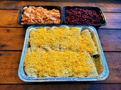 Enchilada Dinner - Family Size