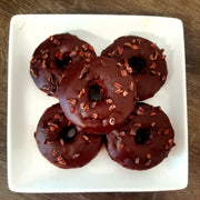 Double Chocolate Protein Donuts