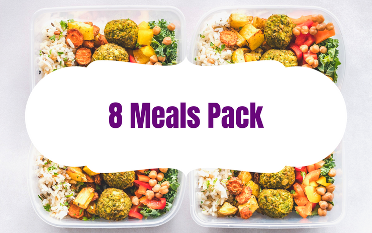 8 Meals Pack