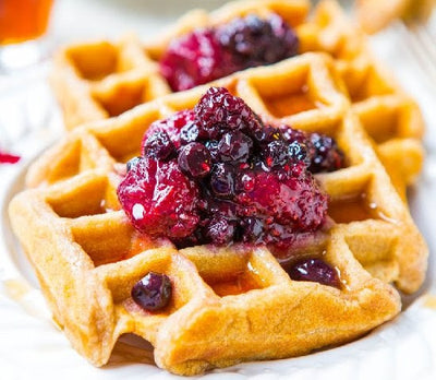 Power Protein Waffles