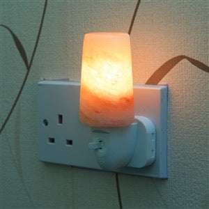 Himalayan Salt plug in light
