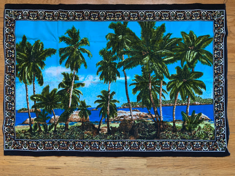 Vintage Palm Tree Tapestry