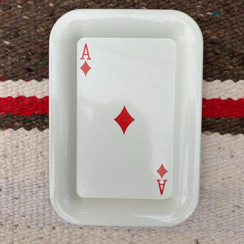 Vintage Ace of Diamonds Stash Tray