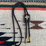 Vintage Montana Centennial Resin and Gold Bolo