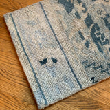 Faded Blue Rug