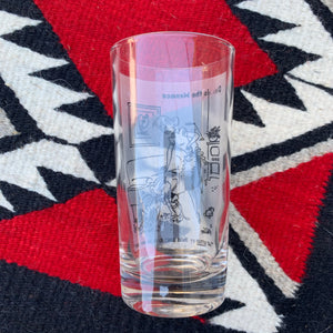 Vintage 'That settles it you're going to be an only child' Dennis the Menace Tumbler