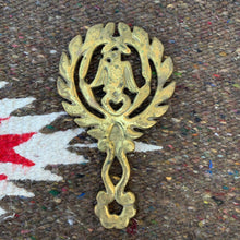 Vintage Small Brass Eagle Trivet