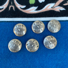 Vintage 1970s Southwestern Button Covers