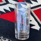 Vintage ' I don't think your funny and neither does your grandpa' Dennis the Menace Glass
