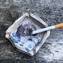 Handmade Ceramic Horse Hands Ashtray